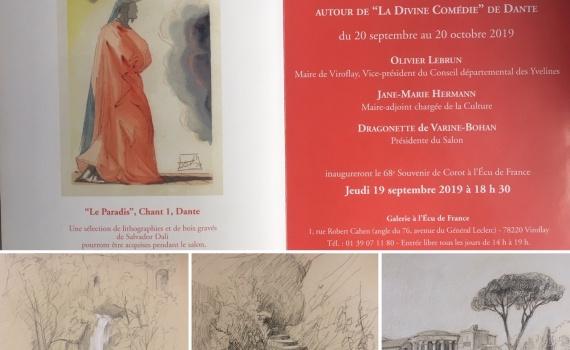 invitation , 30 artistes exposent sous l égide de salvador Dali